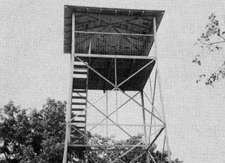 The Woodstock Tower in Woodstock, Va.
