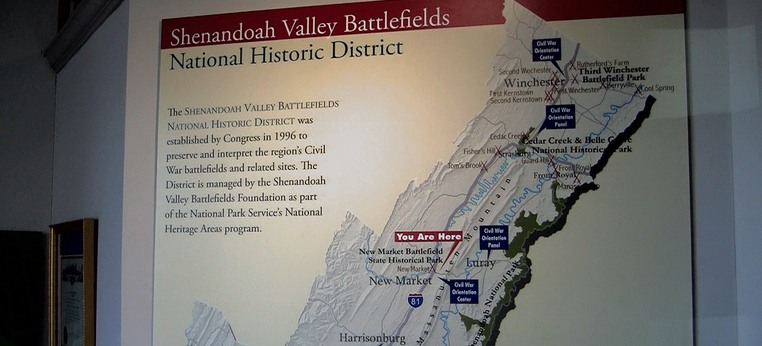 Shenandoah Valley Battlefields Foundation Visitor Center in New Market, Virginia