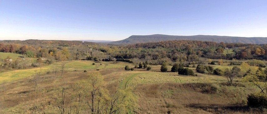 Fishers Hill Battlefield, as it appears today