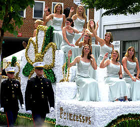 Shenandoah Apple Blossom princesses.