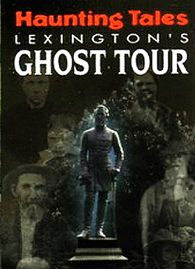 Ghost tours in Lexington, Va.