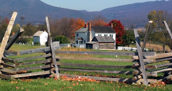 Bushong Farm at Shenandoah Valley Tourism Information Center.